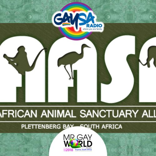 Lara Mostert from Animal Alliance discusses sponsoring Mr Gay World