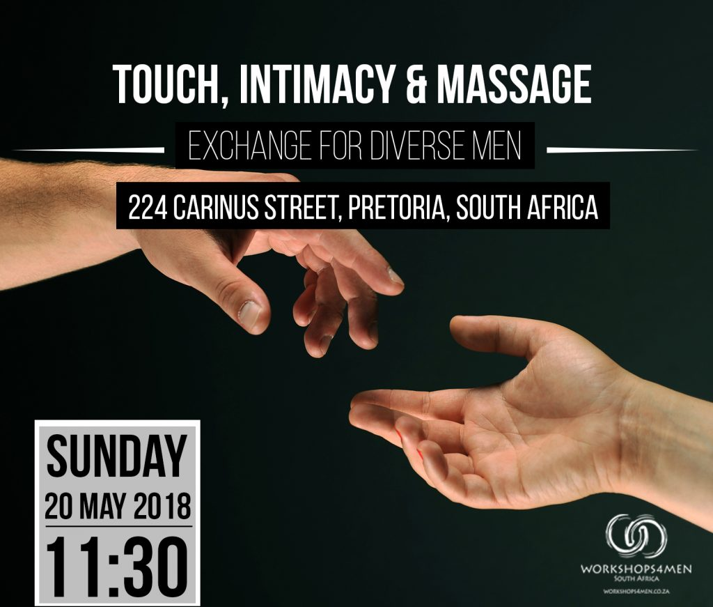 Touch, Intimacy & Massage - Exchange for diverse men