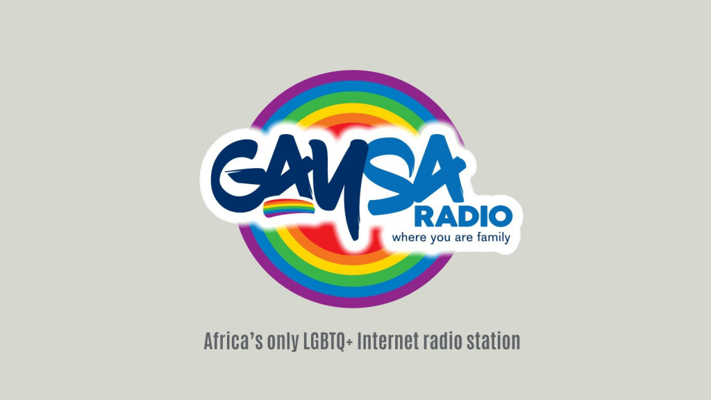 GaySA Radio, where you are family. Africa's only online LGBTQ+ radio platform.