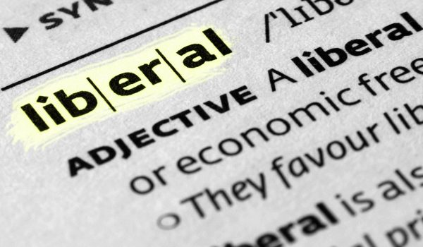 What is are the definitions of 'liberal' and 'conservative'?