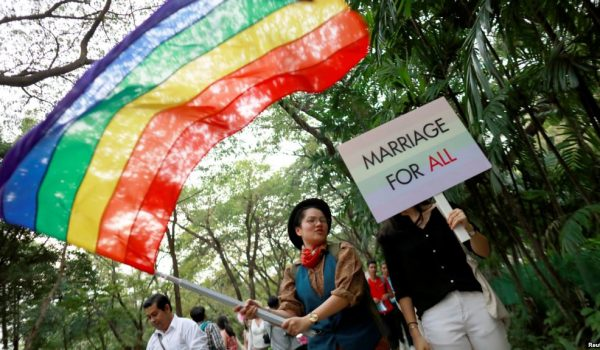 Top news story for 10 December 2018 – Thailand considers same-sex partnership bill