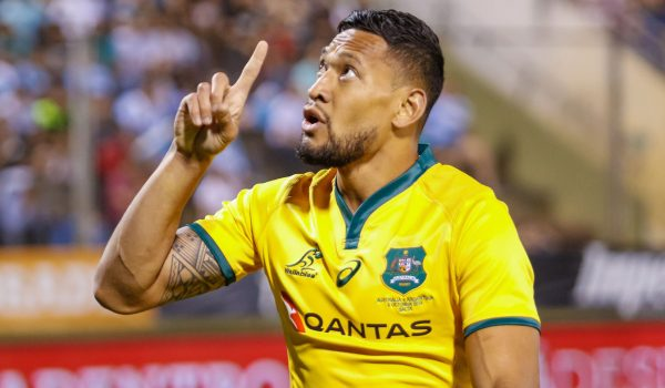 Israel Folau to get the boot after homophobic social media posts