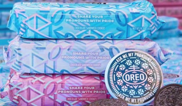 Oreos release special edition 'Pronoun Packs'