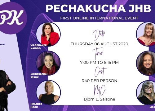 First ever Pecha kucha JHB International event
